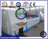 Machine de plaque du rouleau W12S-25X4000 4 de dépliement en acier et de roulement