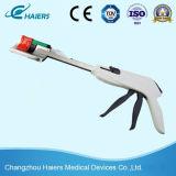 Grapadora curvada disponible quirúrgica del cortador para la cirugía colorrectal