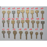Chave de fechamento chave da chave mestra