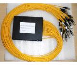 Splitter 2X32 G657A1 de fibra óptica PLC