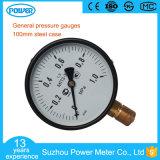 Stahlkasten-allgemeiner Druckanzeiger des Druckanzeiger-Hersteller-100mm
