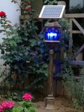Solar LED Garden Courtyard Lawn Light com Mosquito Repelente Assassino
