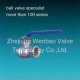 ステンレス製のSteel Ball Valve 2PC Threaded Female端Ball Valve CF8m 1000wog
