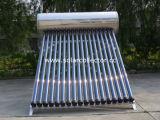 250L de aço inoxidável pressurizado aquecedor solar de água