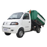 Carro de basura urbano eléctrico con el envase desmontable