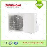 Pompa termica solare spaccata del condizionatore d'aria di CC della parete