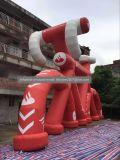 Grande replica rossa gonfiabile esterna della modifica da vendere