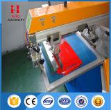 Stampatrice automatica dello schermo della maglietta di figura rotonda di due colori