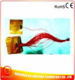 calefator de faixa flexível elétrico de 155*180mm 12V 150W Polyimide