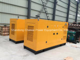 diesel diesel Genset del gruppo elettrogeno del baldacchino silenzioso della pompa di 100kw pinta