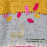 Robe tricotée à la mode pour les filles