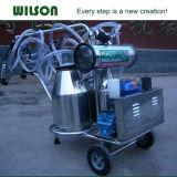 Melkende Machine van de Emmer van de dieselmotor de Enige