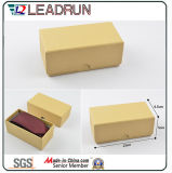 Rectángulo hecho a mano de empaquetado de la promoción del escaparate de la correa de la caja de cosméticos del compartimiento del metal del rectángulo de almacenaje de la correa de la caja del papel del regalo del rectángulo de la carpeta del regalo del rectángulo de papel (YSB027b)