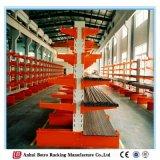 Muti-Camada feita das unidades por atacado do Shelving de China na cremalheira Cantilever resistente galvanizada objeto