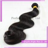 Atacado extensões naturais baratos 100 Virgem Remy cabelo humano