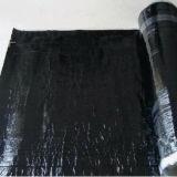 Membrana impermeável modificada autoadesiva do telhado do betume da película de PE/HDPE/EVA