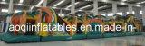 ジャングルの屋外の膨脹可能な運動場の膨脹可能な障害物コースの競争(AQ199)