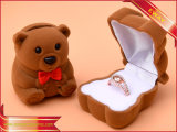 로즈 반지 상자 보석 수송용 포장 상자 우단 반지 상자