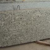 Partie supérieure du comptoir blanches de cuisine de granit de lune de bonne qualité