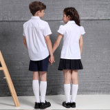 All Grades Primary&Middle& University School Uniforms를 위한 싼 School Uniforms Shirt