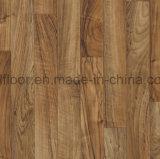 étage de planche de vinyle de PVC de glissade de 5mm non