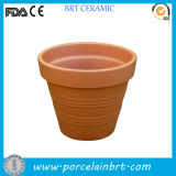 屋内またはOutdoor Wall/Hanging/Corner/Balcony Herb/Seed Ceramic/Terracotta Modern/Decorative/Concrete Large/Smallの庭Planter Pot