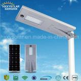 Réverbère solaire Integrated de la meilleure qualité DEL des prix avec du ce RoHS IP65 ISO9001 reconnu