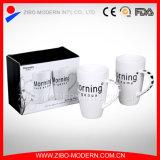 Tazas de café de cerámica personalizadas venta al por mayor de la impresión