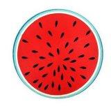 Tovagliolo 100% di spiaggia rotondo di disegno della frutta del poliestere per il commercio all'ingrosso
