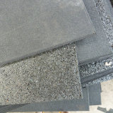 Telha de borracha Desgastar-Resistente de borracha industrial da telha de assoalho da cor de borracha da telha de assoalho