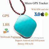Inseguitore personale di GPS con la posizione triplice di GPS+Lbs+WiFi (A9)