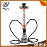 Kamel-Edelstahl-Rohr-Wasser-Rohr-rauchendes Set-Huka mit Belüftung-Rohrfitting-Adapter Shisha