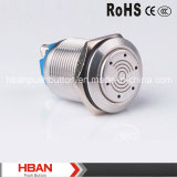Hban (19mm) Screw Terminal Can Illumination IP50 12V Buzzer