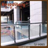 SU 304のステンレス鋼階段ガラス手すり(SJ-H048)