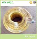 Boyau hydraulique à haute pression en plastique de pipe de Matt Yogon de jet d'air de tuyau de PVC