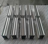 Perfil material de alumínio do alumínio da construção da parede de cortina da fachada