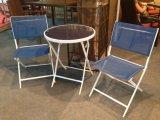 Muebles al aire libre impermeables del jardín de Textilene