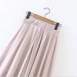 Form-Kleid-reine Farben-Chiffon- lose Hosen für Hose der Frau
