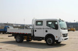 HP de Dongfeng Kai Pute N300 130 3.13 contadores de Cargobox de la fila doble de carro ligero de Cabine