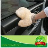 Schaffell-Auto-Reinigungs-Handschuh