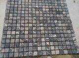 焦茶の大理石のモザイク・タイル(25*25mm)