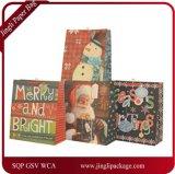 Las bolsas de papel para Pcaking, bolsos del regalo de la Navidad, bolsa de las compras de Christmmas de papel del regalo, manejan la bolsa de papel, bolsa de papel de las compras