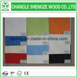 Alta calidad 8-25mm frente azul Chipboad / Panel de partículas / Flakeboard