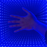 党、DJ Lighting 3D Mirror時間Tunnel LED Dance Floor