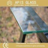 """5/16 """" 8mm freier Raum Folating Badezimmer-Wand-Regal-ausgeglichenes Glas"""