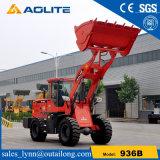 Piccolo macchinario articolato della costruzione di strade del caricatore del trattore da vendere