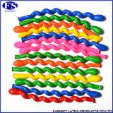 Bunte Günstige China Markt Latex Spiral Balloons