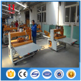 Double machine de presse de la chaleur de grand format de poste de travail
