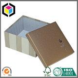 Tampa destacável Rigid Paperboard Gift Wallet Paper Box