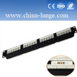 24 Port UTP Cat 6 Patch Panel and Keystone Jack